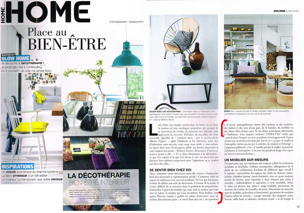 Article Home Sept 2014 Saurin Decoration